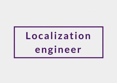 Localization engineer